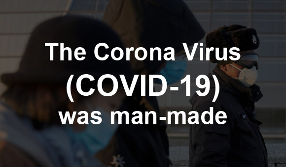 COVID-19 is man-made