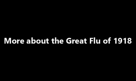 More about the Great Flu of 1918