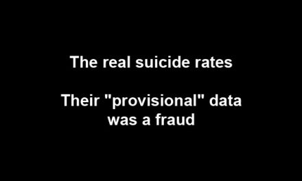 The real suicide rates